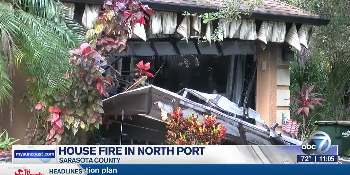 House Fire in North Port