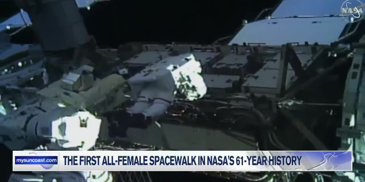 First All-Female Spacewalk in NASA's 61-Year History
