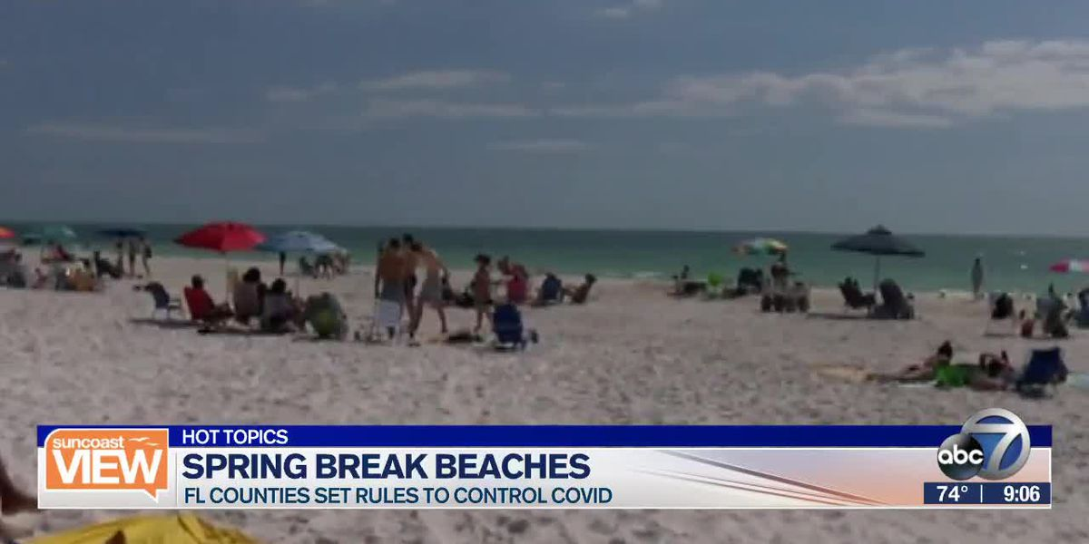 HOT TOPICS: Suncoast Spring Break, Home internet fights, & Sneaking vaccines | Suncoast View