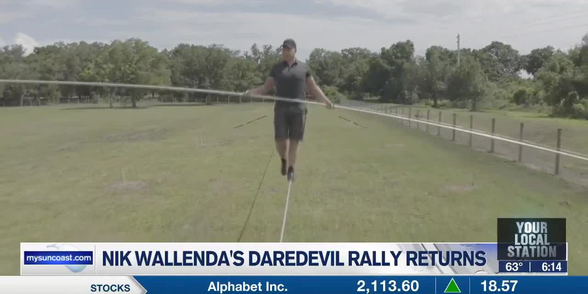 Nik Wallenda's Daredevil Rally to return to Sarasota's Nathan Benderson Park