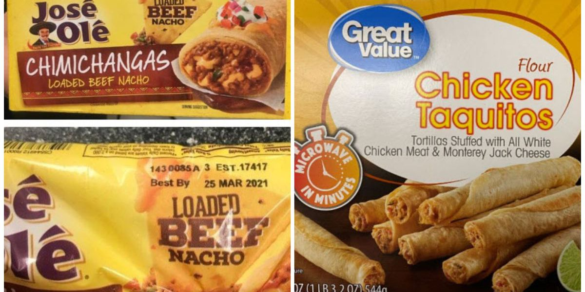 Frozen taquito and chimichanga products recalled due to foreign material