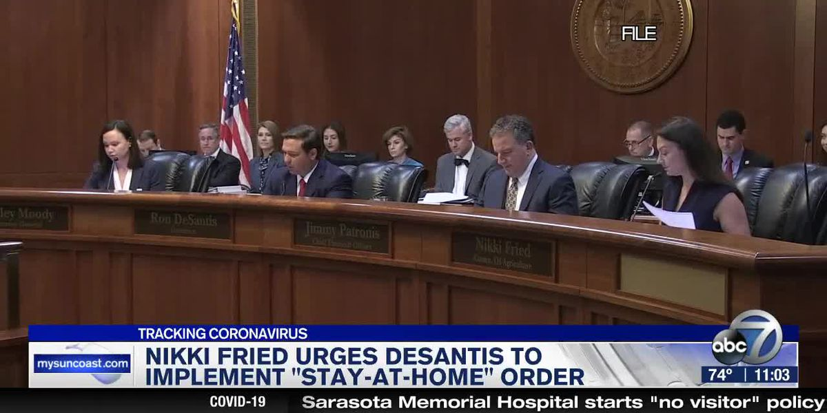 "Nikki Fried Urges DeSantis to Implement ""Stay-At-Home"" Order"