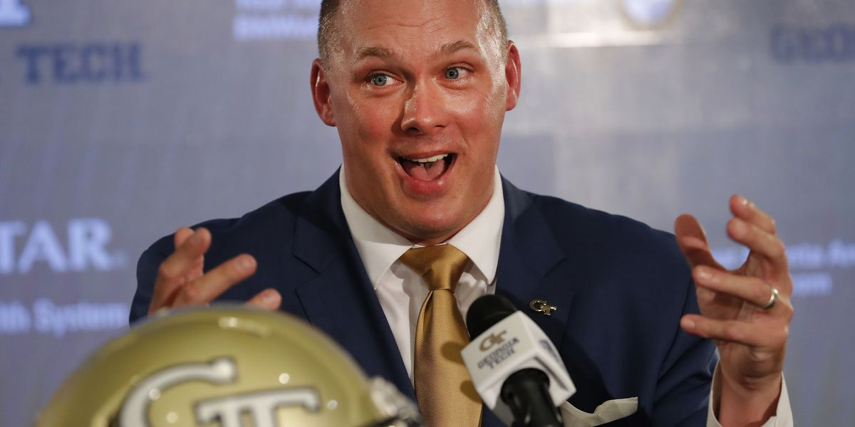 Georgia Tech hires Temple's Geoff Collins to replace Johnson