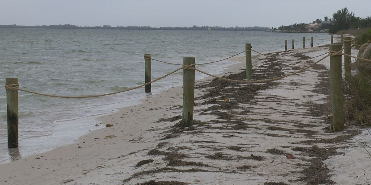 Some homeowners in Anna Maria blocking off beach access with rope fences