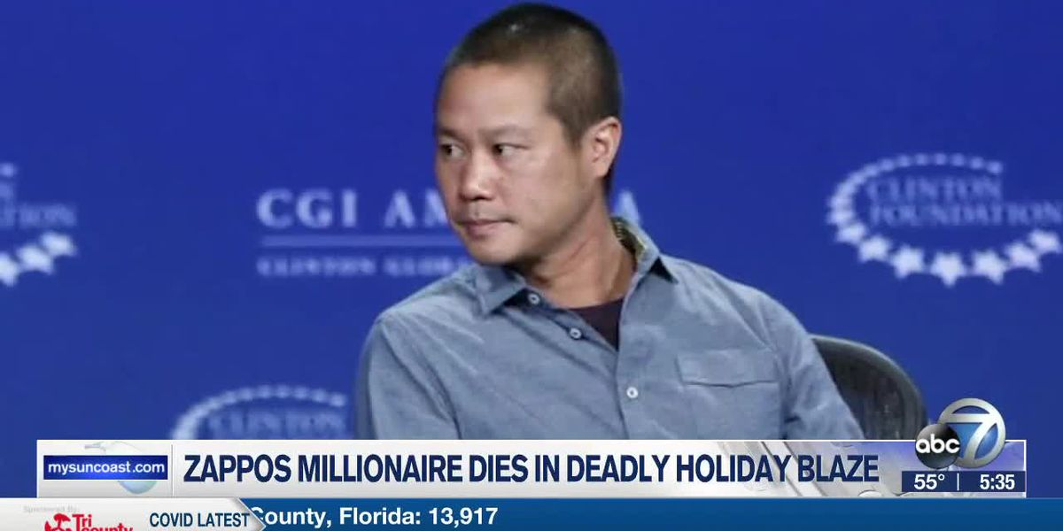 Zappos Millionaire Dies in Deadly Holiday Blaze