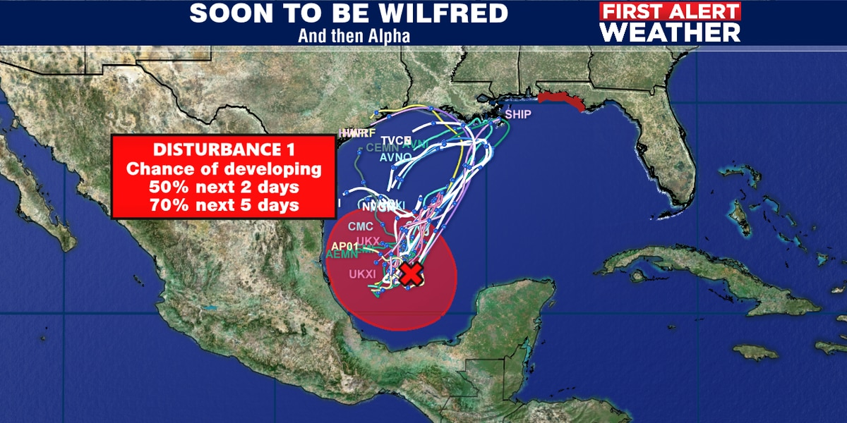 Another tropical system possible in Gulf ?