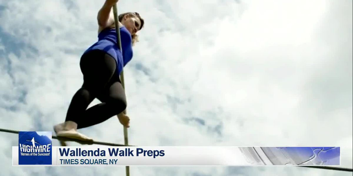 Wallenda in New York City preparing for highwire walk with sister