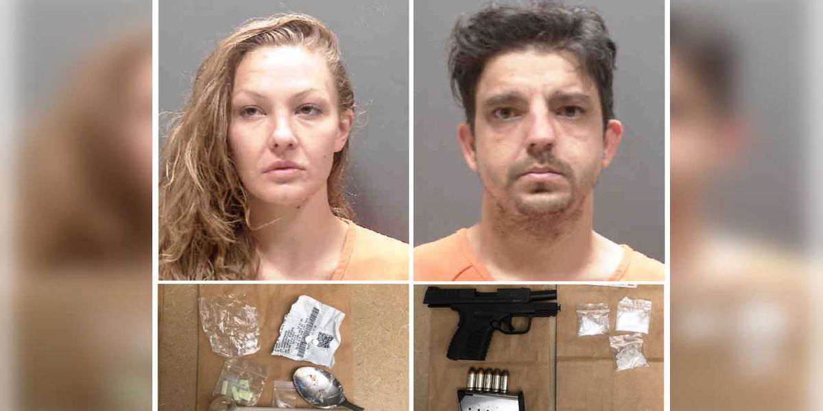 Family member's tip leads to two arrests for drugs, stolen property