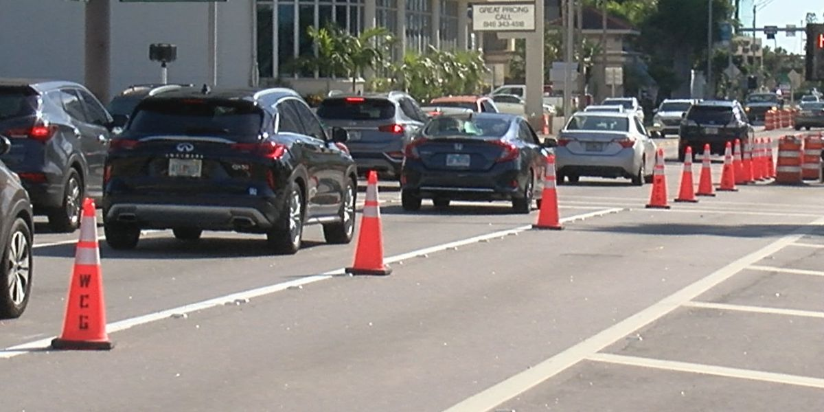 New traffic pattern now in effect on U.S. 41 in Downtown Sarasota