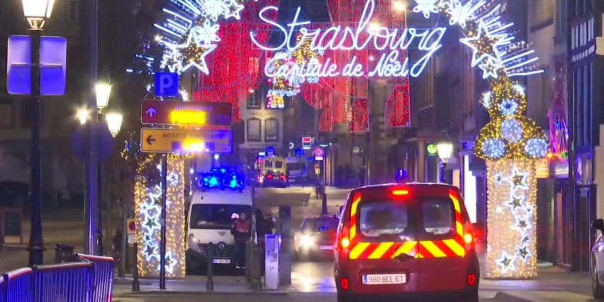Attack at Christmas market in French city kills 3, wounds 12