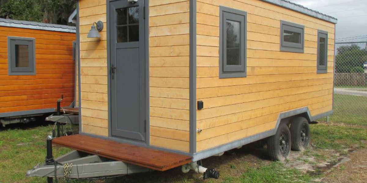 Tiny home stolen out of fenced yard