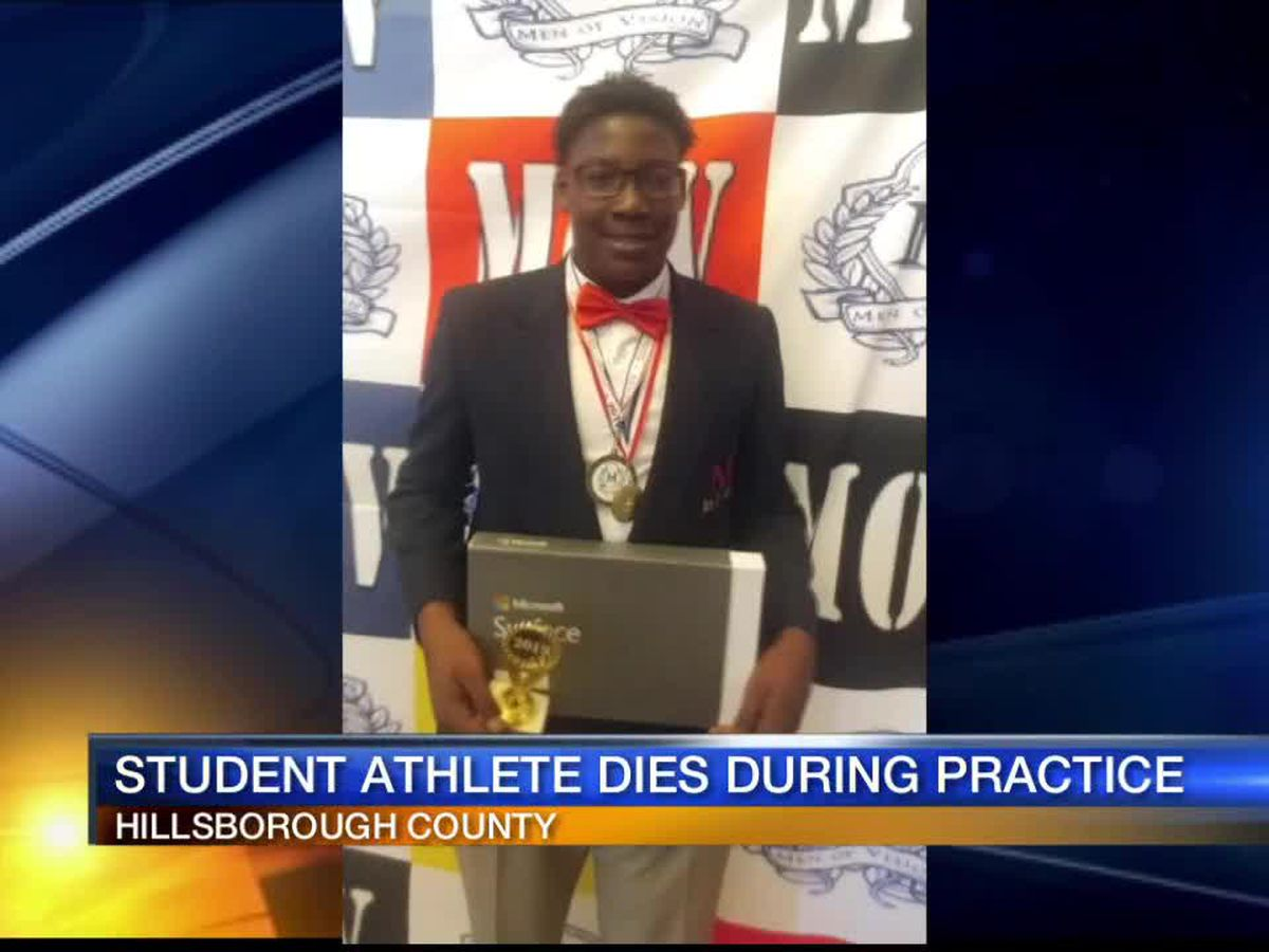 Boy, 14, dies during football conditioning drills