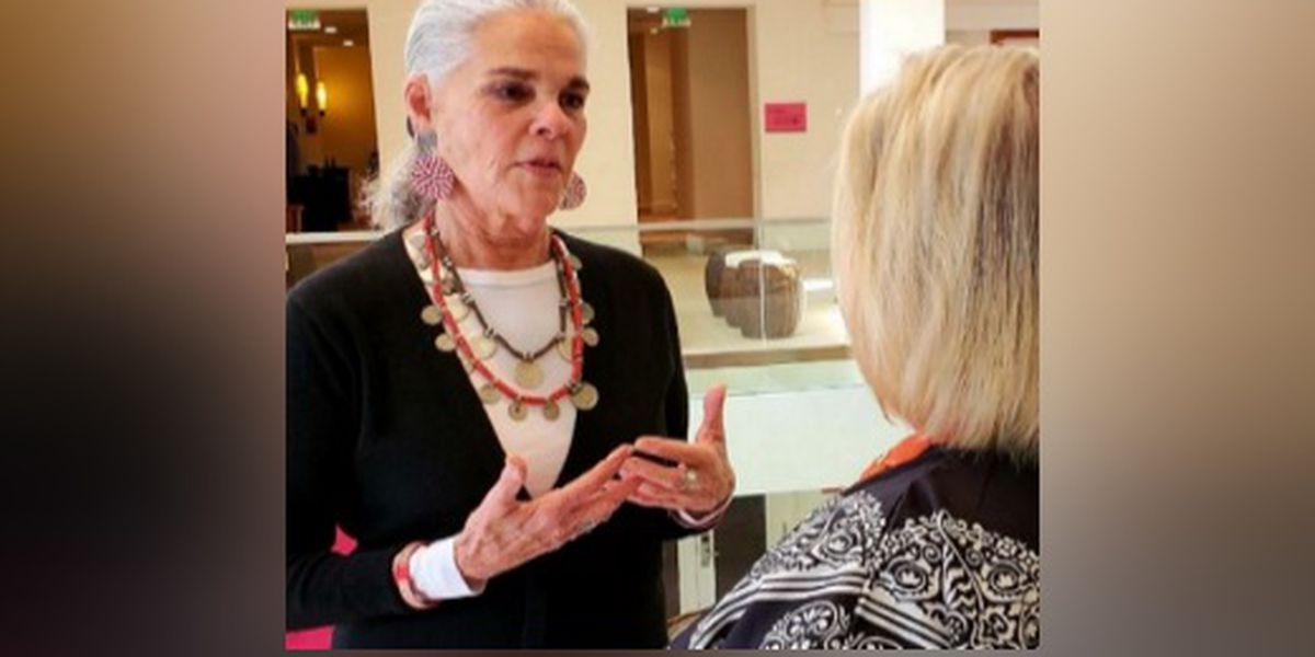 Actress Ali MacGraw on the Suncoast for the Hermitage Artist Retreat