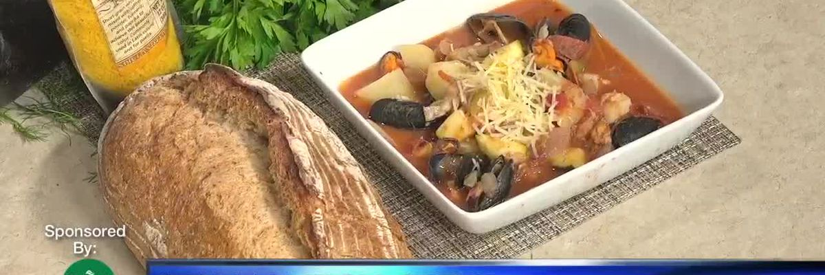 Lunch with Chef Judi | Italian Fish Stew Part 4