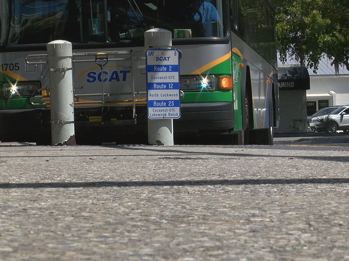 Local elected officials endorse the removal of downtown Sarasota's SCAT transfer station