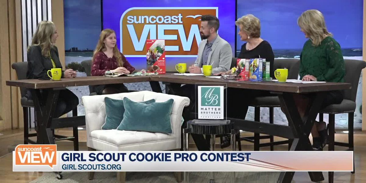 Sarasota Girl Scout Goes National | Suncoast View