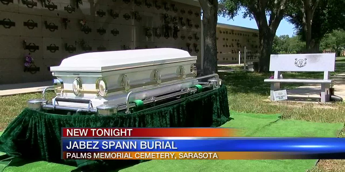 Jabez Spann laid to rest on national missing children's day on the Suncoast over the weekend