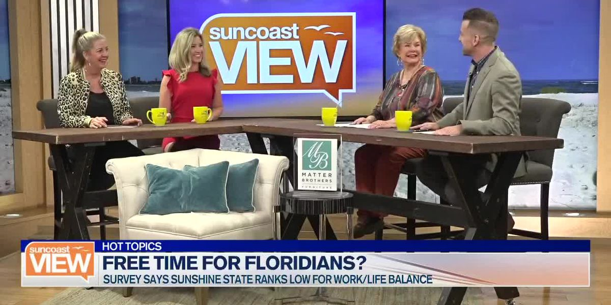 How Much Free Time Do Florida Workers Really Have? We Learn from a New Study | Suncoast View