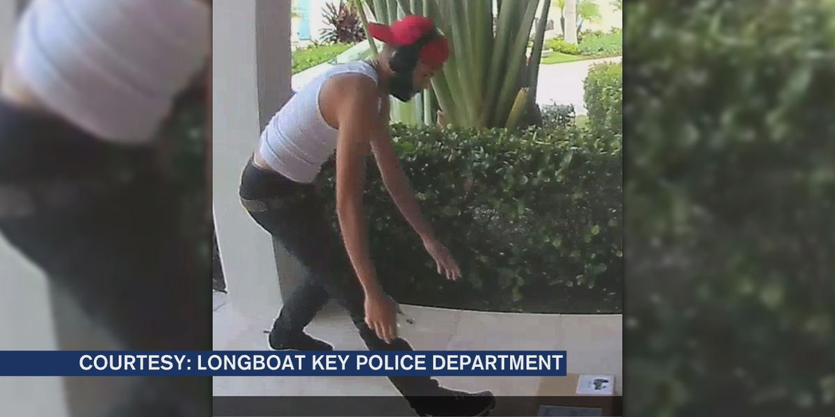 Search continues for porch pirate who stole $1,400 package from Longboat Key home