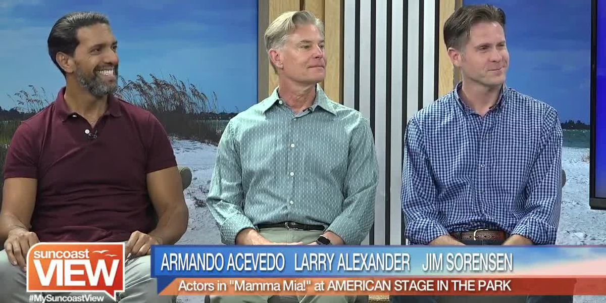 """Meet the Stars of """"Mamma Mia"""" at American Stage in the Park! 