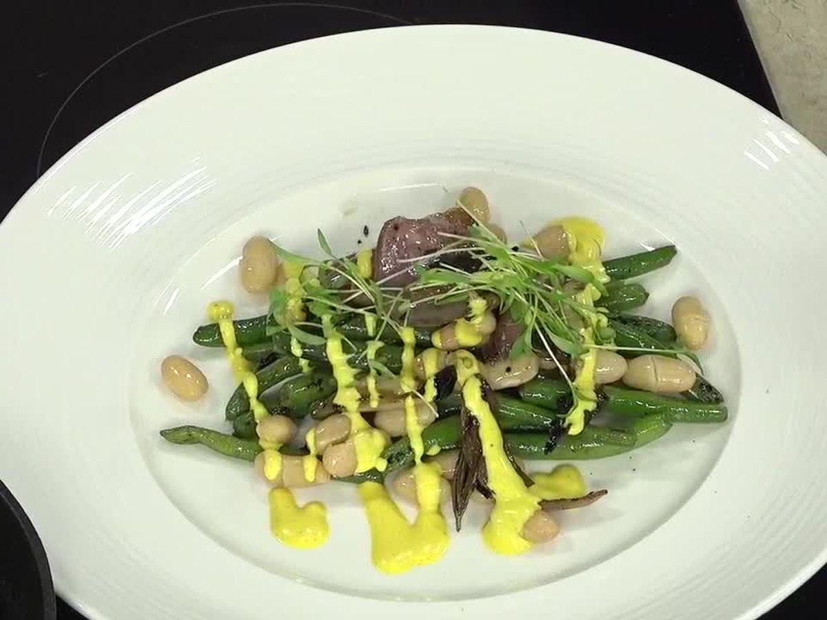 Sage Restaurant: Cold salad with dressing