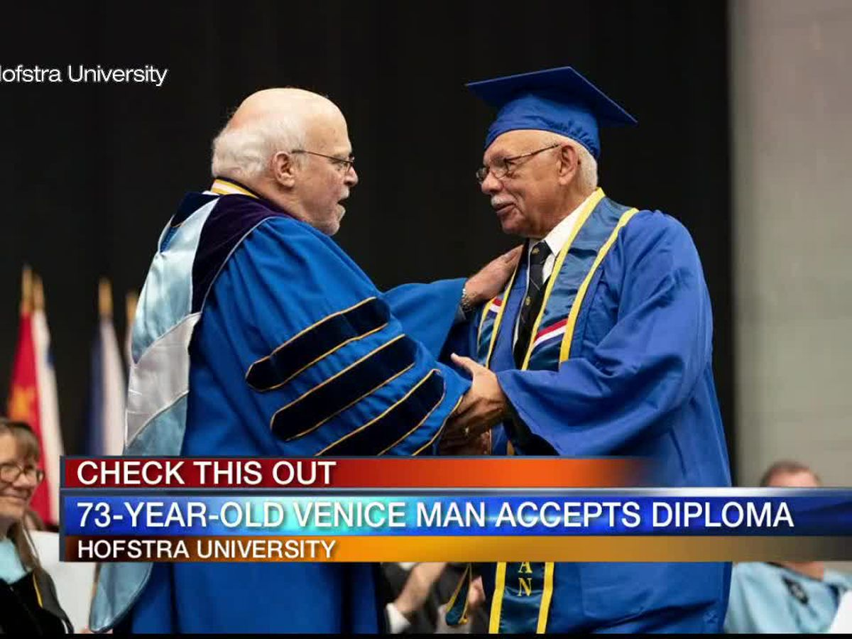 73-year-old Venice man graduates college after 56 years