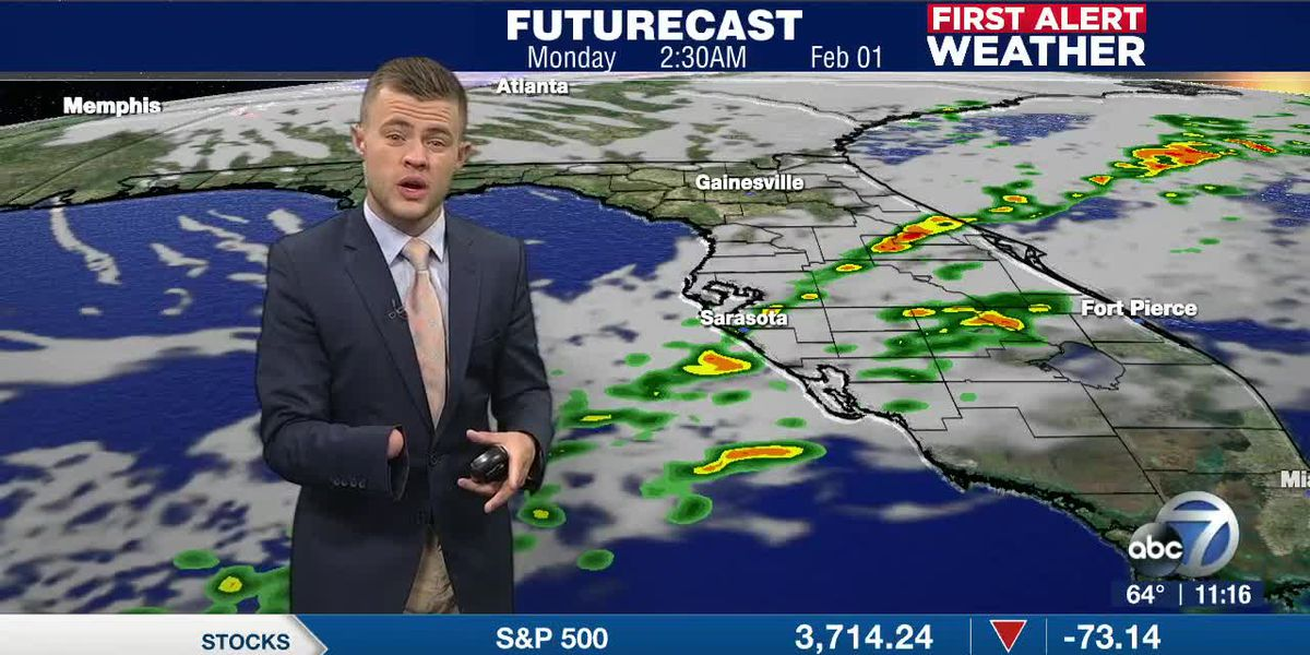 Sunday's Cold Front Brings Changes