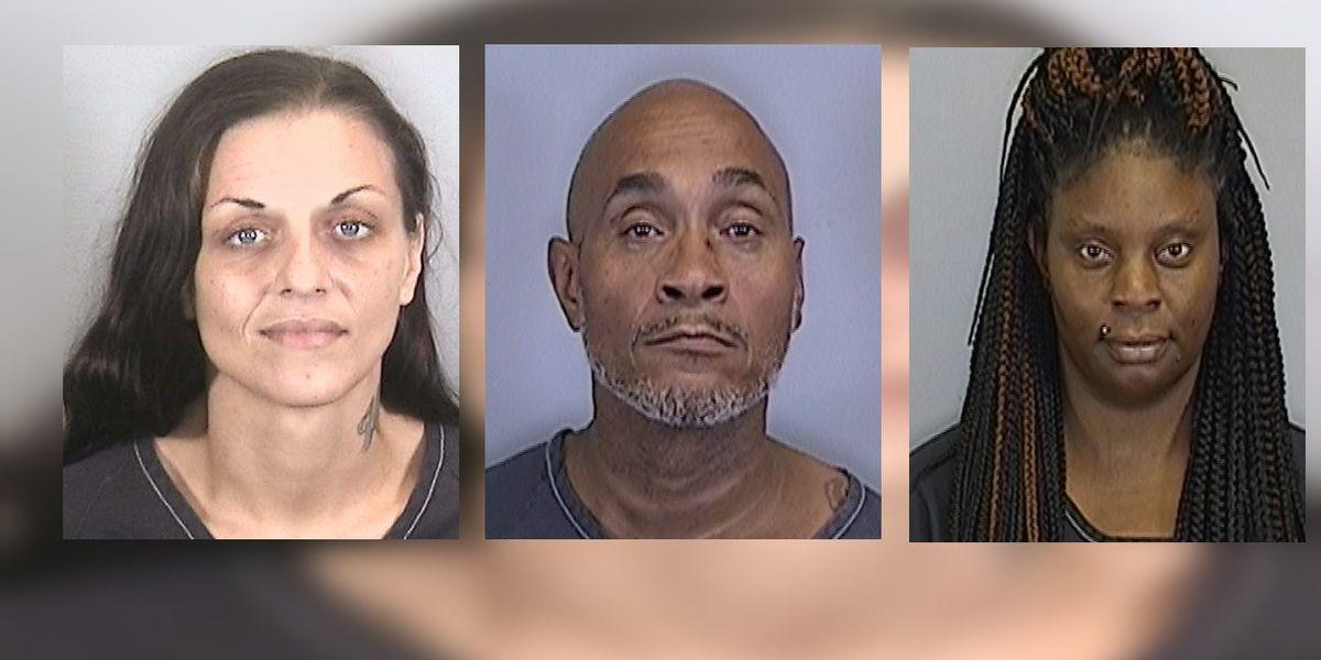Sheriff: Trio steals cash from Bradenton man at hotel
