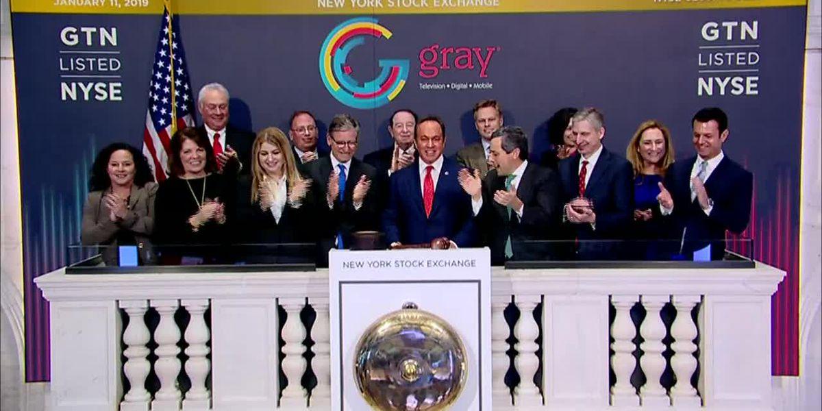 Gray CEO Rings Closing Bell