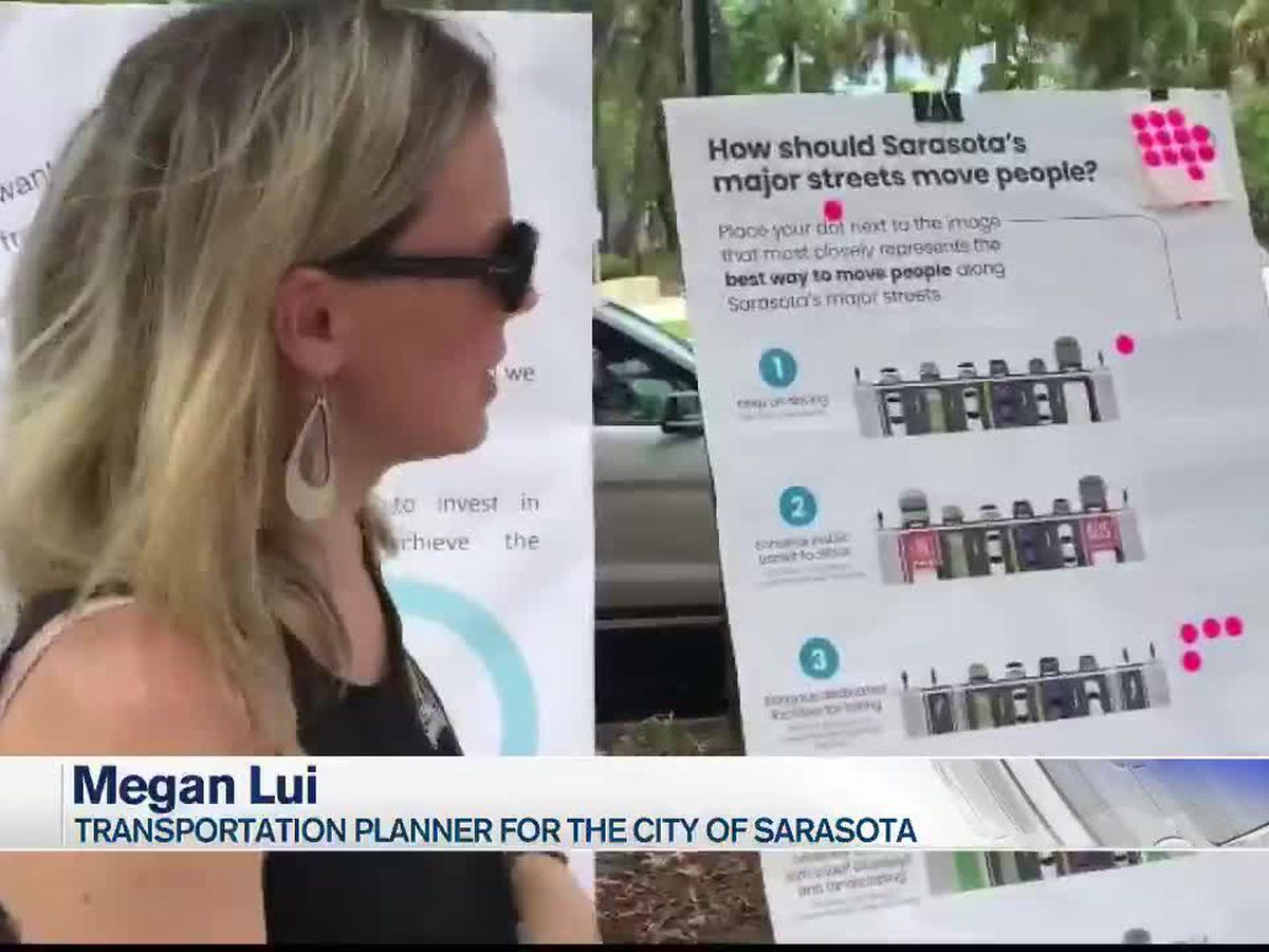 VIDEO: Sarasota City's Transportation Master Plan | What's your vision for traffic?