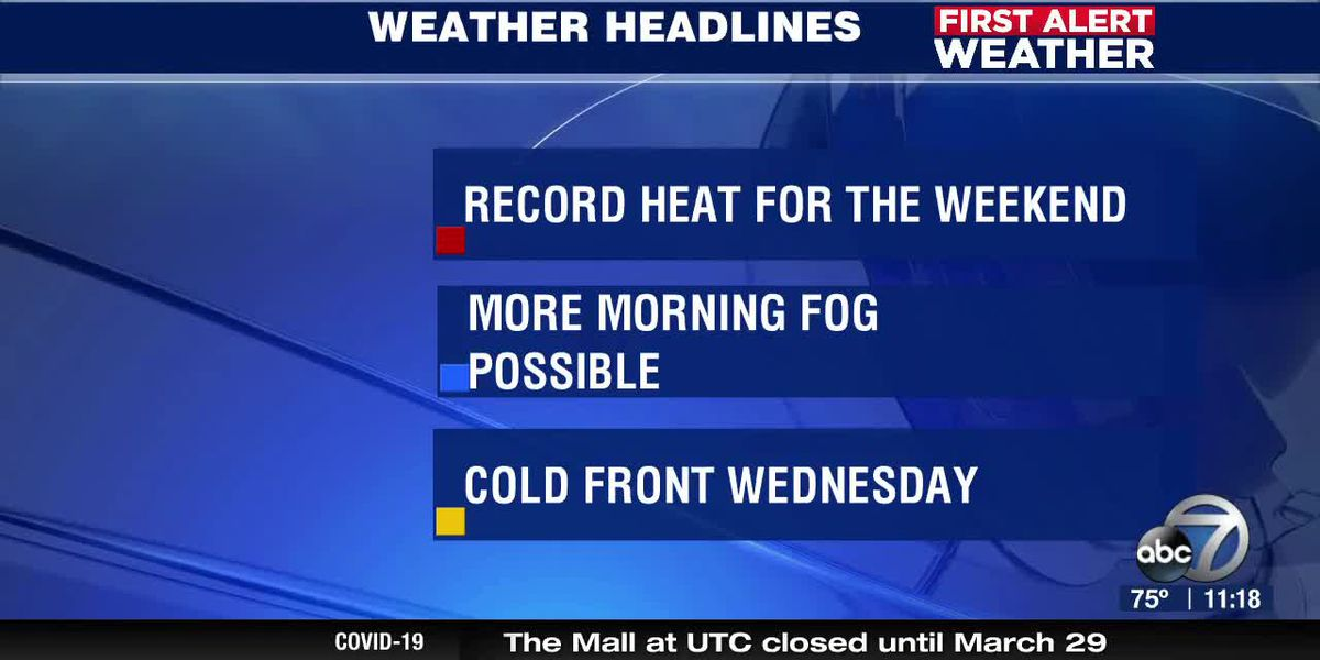 First Alert Weather - 11pm March 27, 2020