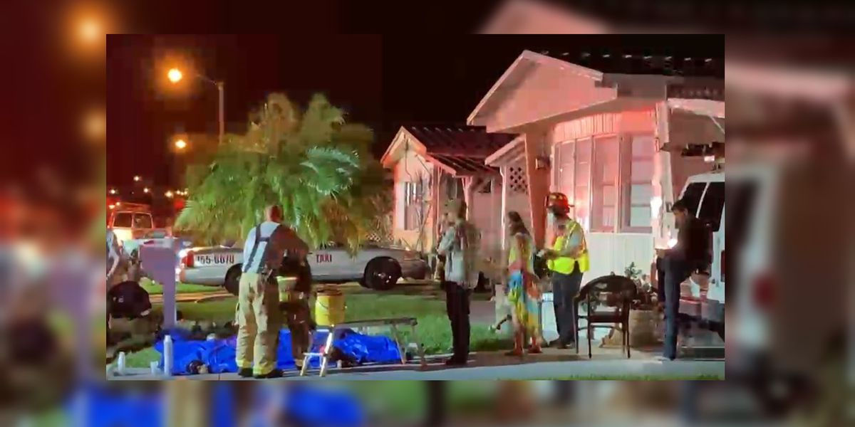 Dog saved from burning Bradenton home