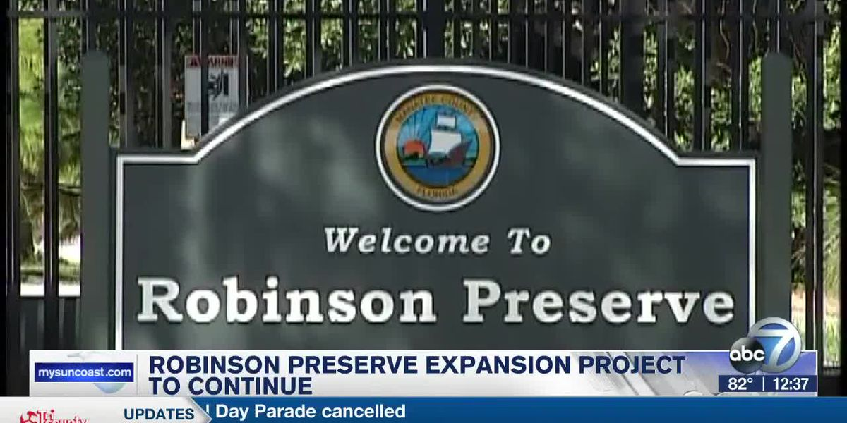 Final construction phases begin for the Robinson Preserve Expansion