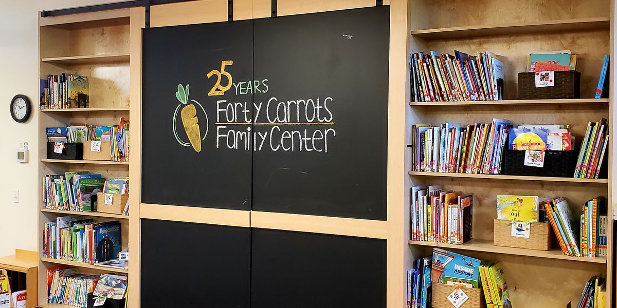 Forty Carrots Family Center celebrating two big milestones