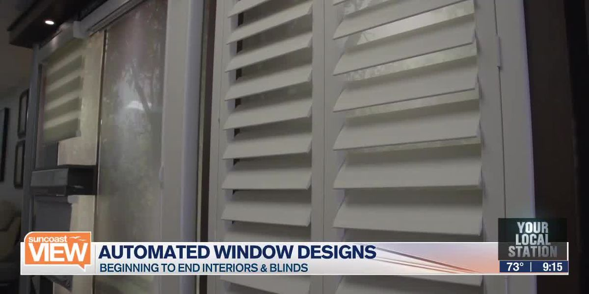 Automated window designs with Beginning to End Interiors | Suncoast View