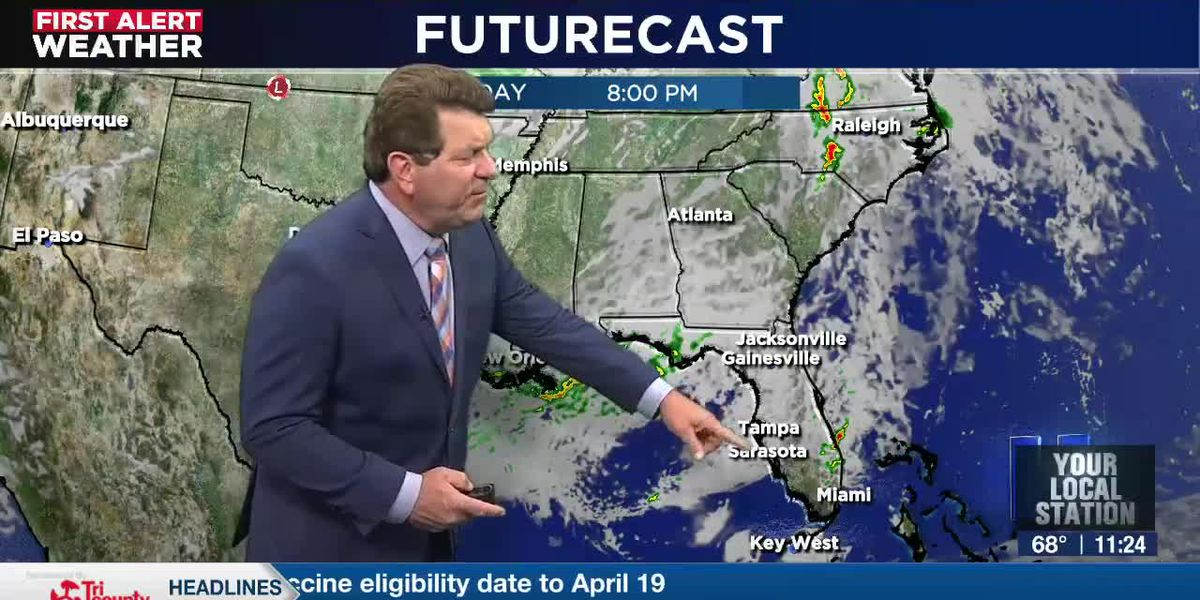 First Alert Weather - 11pm April 8, 2021