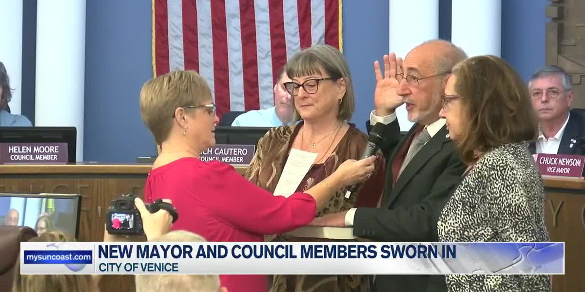 New Venice Mayor and Council Members Sworn In