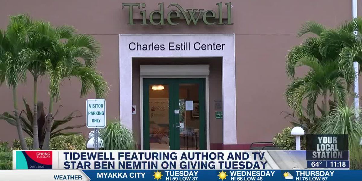 Tidewell Featuring Author and TV Star Ben Nemtim on Giving Tuesday - 11pm Report