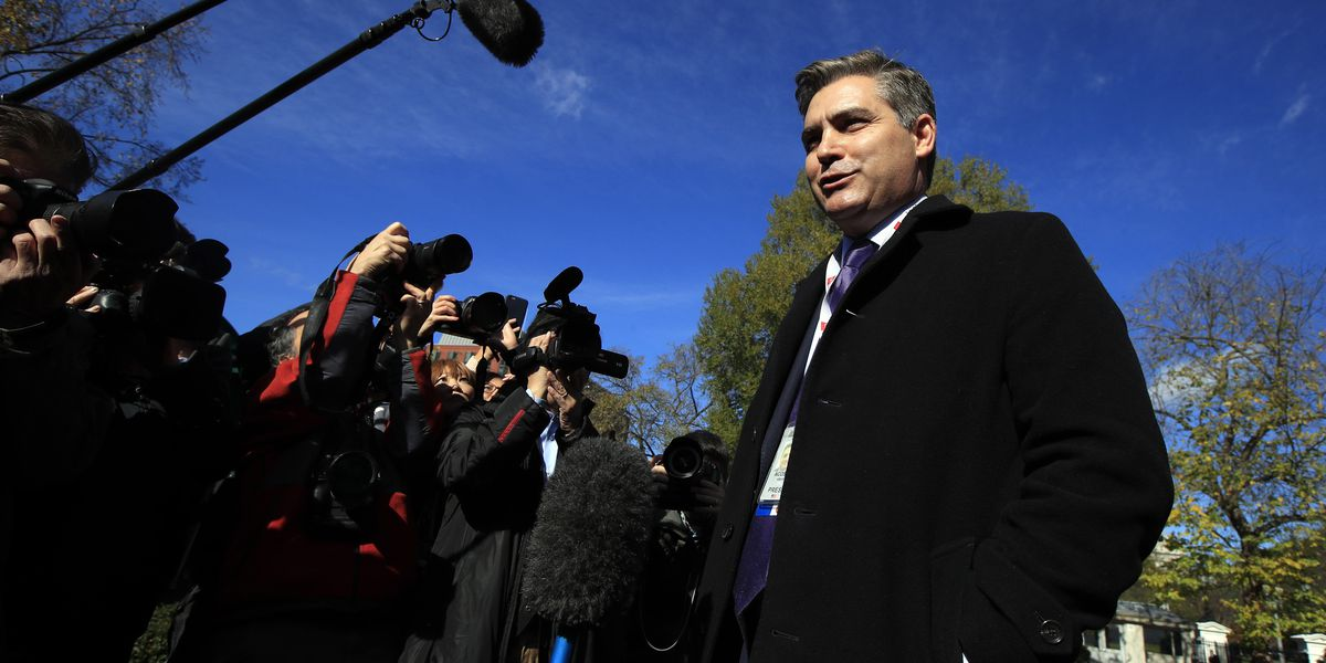 The Latest: CNN's Acosta returns to White House after ruling