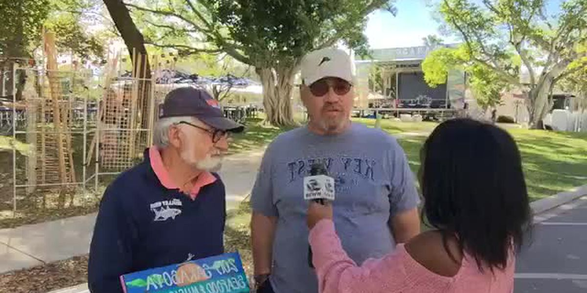 VIDEO: Let's have fun at the Sarasota Seafood Festival this weekend