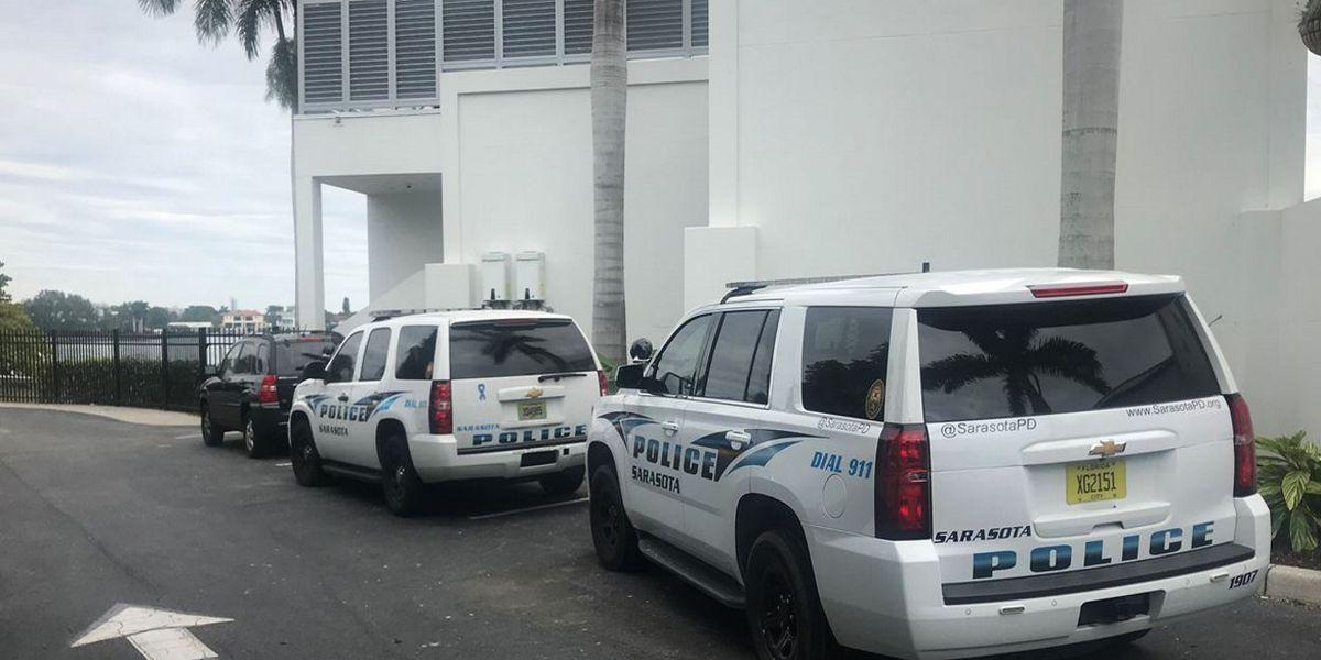 Police conducting death investigation near the Sarasota Yacht Club