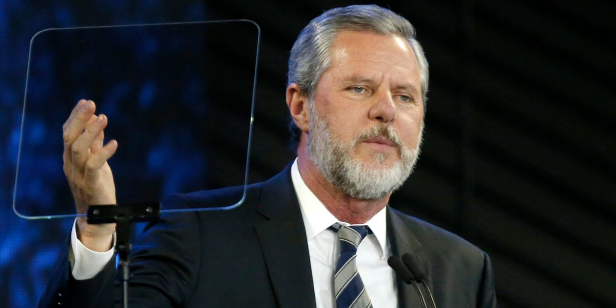 Jerry Falwell Jr. taking an indefinite leave of absence as president and chancellor of Liberty University