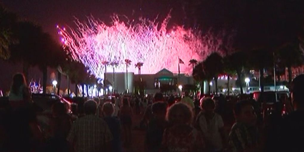 How much do taxpayers pay for fireworks for Fourth of July celebrations on the Suncoast?