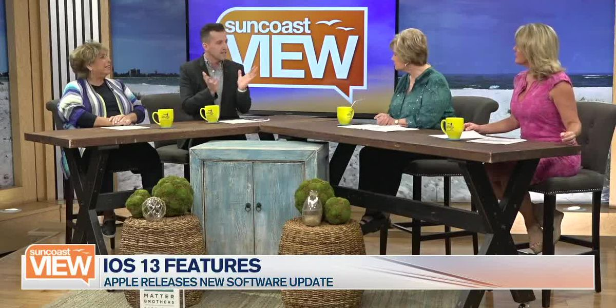 Joey Introduces Us to the New Smart Phone Features of iOS 13 | Suncoast View