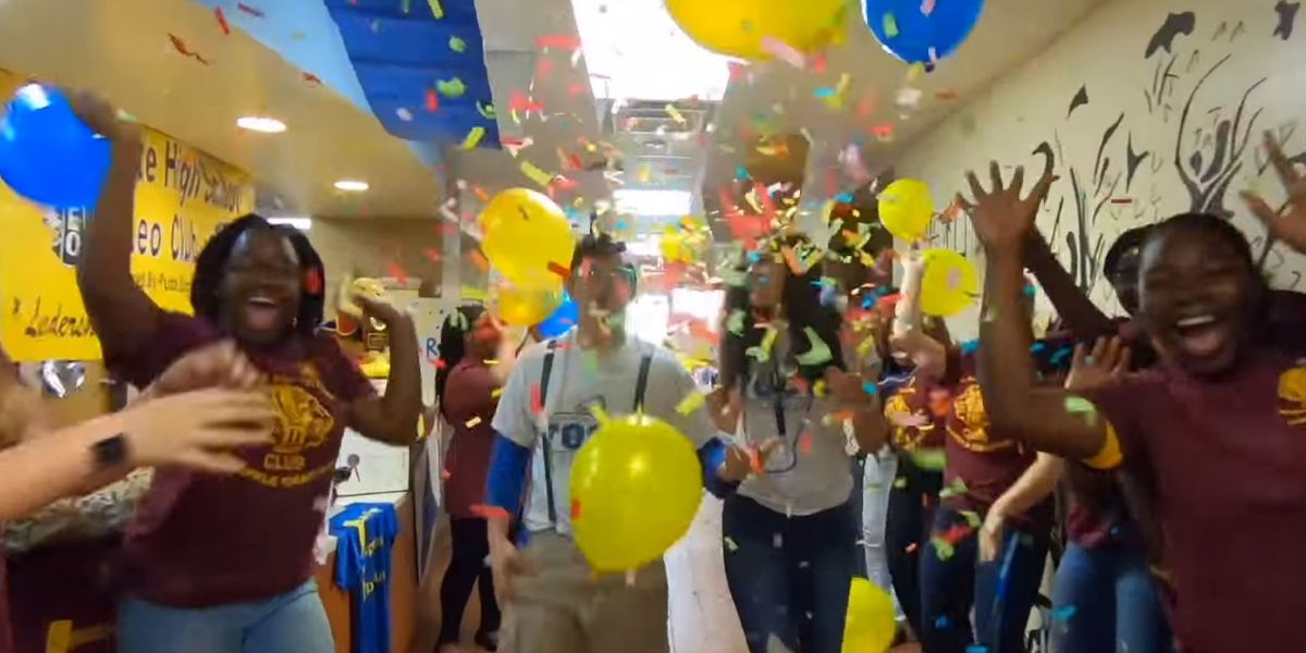 WATCH: More than 1,500 Charlotte County students work to create lip sync video