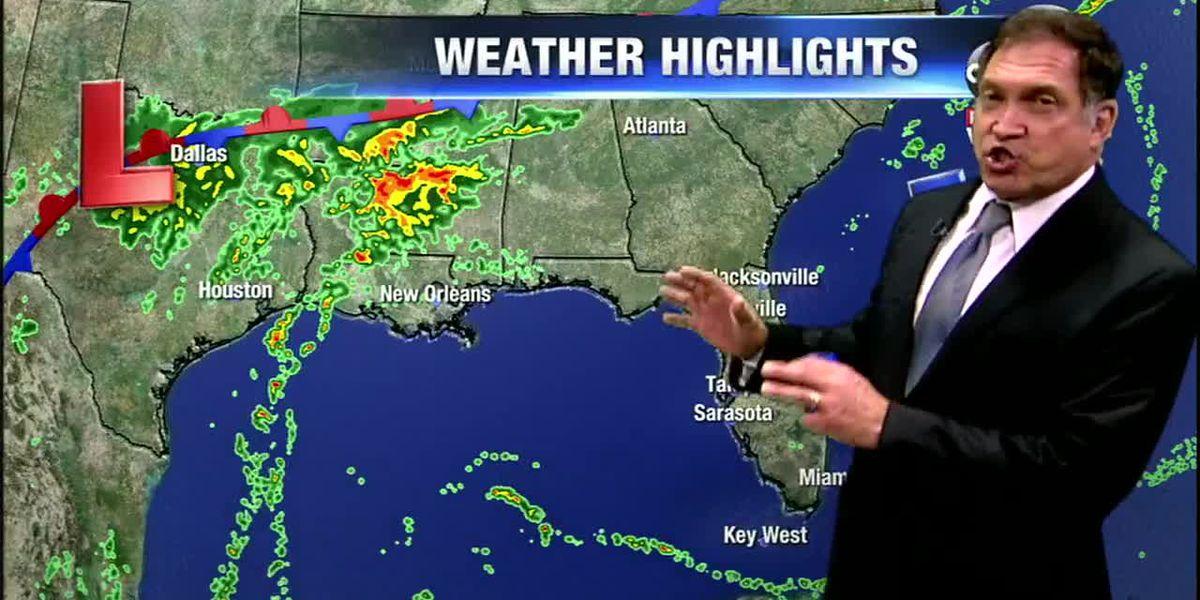First Alert Weather:Threat of severe weather is increasing for the west coast of Florida