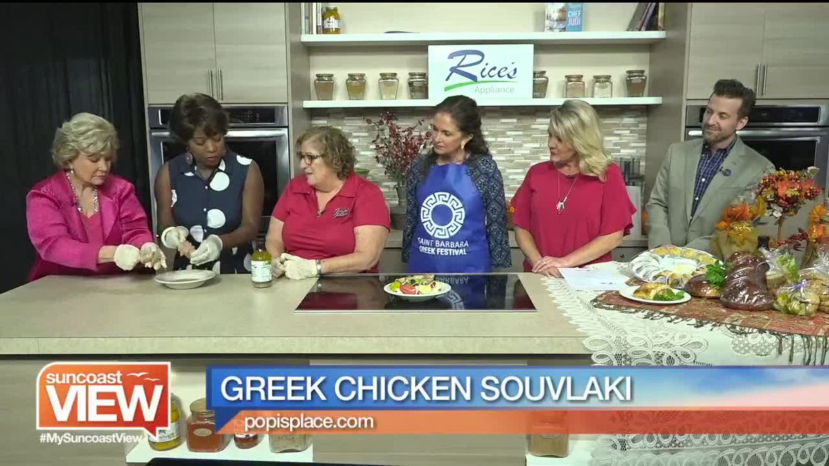 Greek Chicken Souvlaki from Popi's Place | Suncoast View
