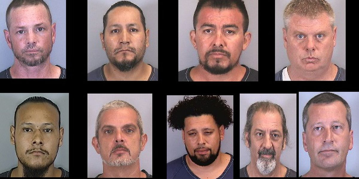 Deputies: Nine men arrested for workers' compensation fraud and unsolicited contracting in Manatee County