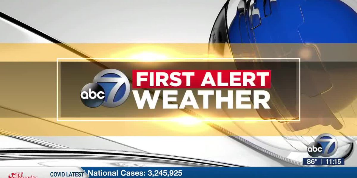 First Alert Weather - 11:00pm July 11, 2020