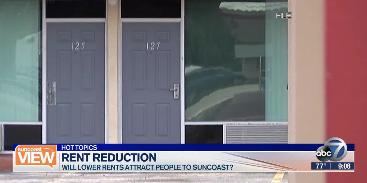 HOT TOPICS: Local rents decrease, Traveling to nowhere, & Perks for pretty people| Suncoast View